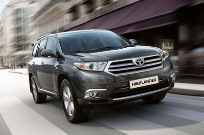 An Early Preview Of The 2011 Toyota Highlander