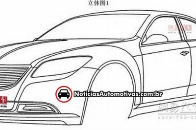 Are these patent drawings of the Chrysler 200C?