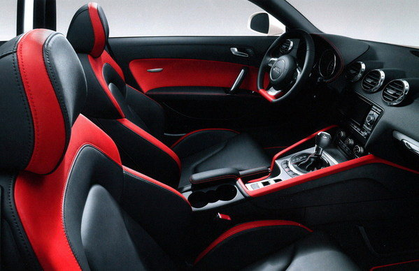 audi tt gets rs-5 inspired interior picture