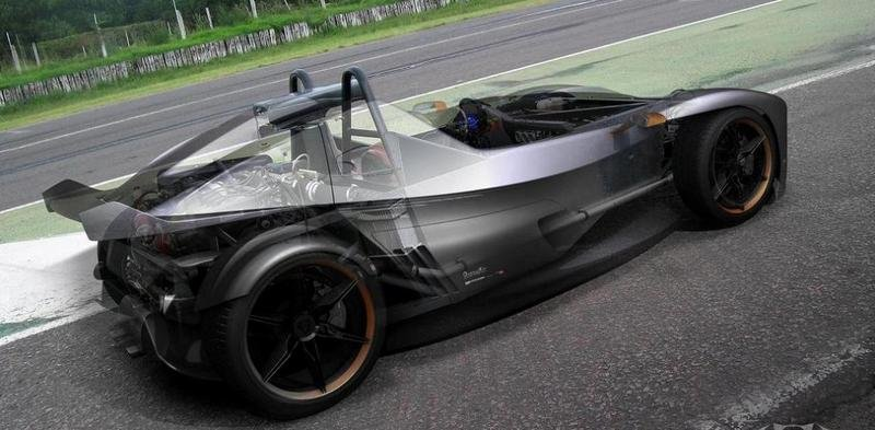Donto P1 - Argentinian competitor for KTM X-BOW
