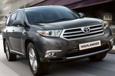 First official image of the 2011 Toyota Highlander