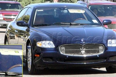 Mel Gibson crashes his Maserati Quattroporte