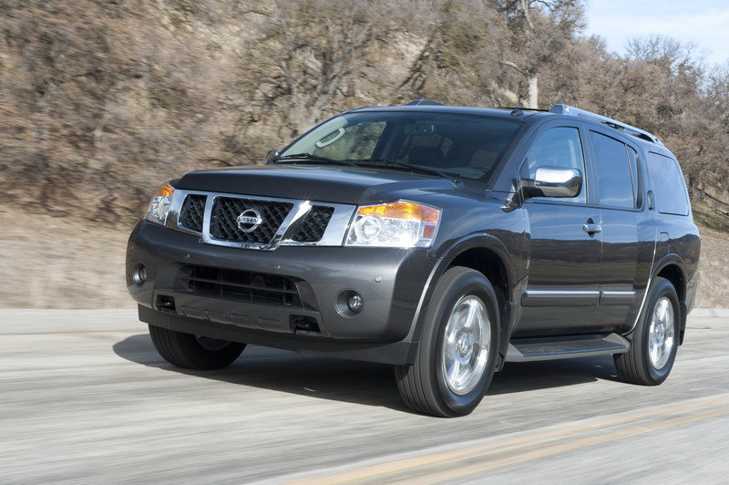 nissan armada reviews specs prices photos and videos top speed. Black Bedroom Furniture Sets. Home Design Ideas
