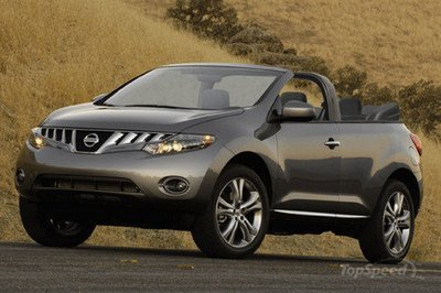 Nissan Murano Convertible To Be Put Into Production?