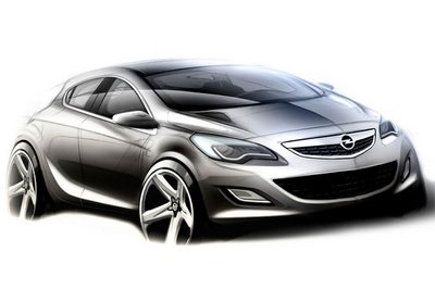 Opel Set To Unveil GTC Paris In Paris