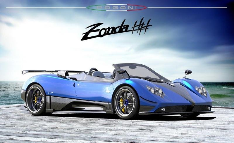 Pagani Zonda HH goes to David Heinemeier Hansson