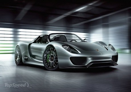 porsche 918 spyder reports a nurburgring time of 7 20