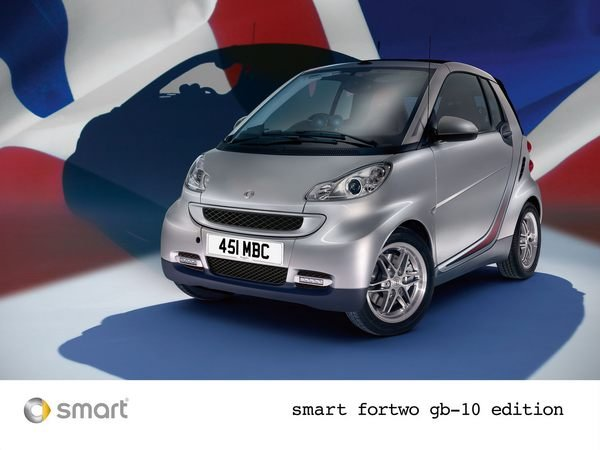 smart fortwo 10th anniversary gb10 edition picture