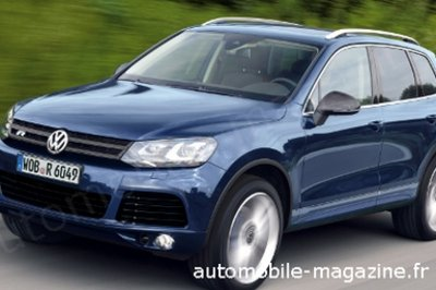 2011 Volkswagen Touareg R Preview
