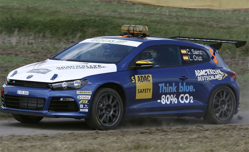 Volkswagen Scirocco Rally Car