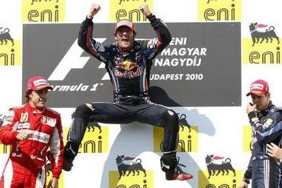 Webber Takes The Win In Hungary