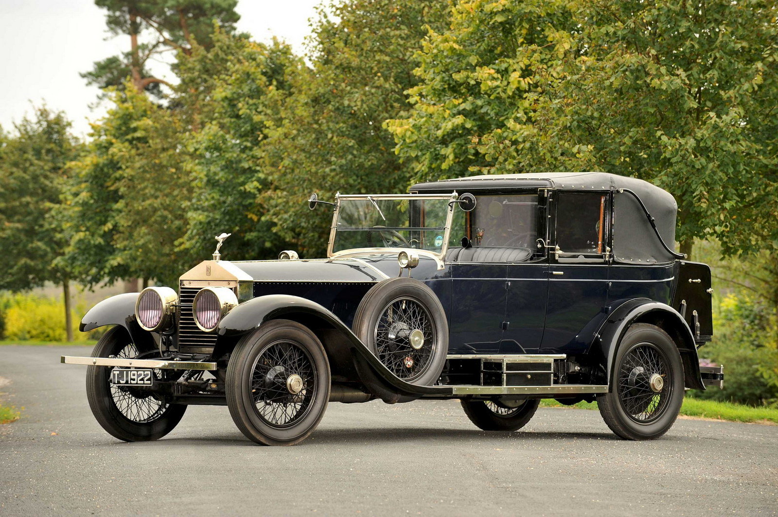 1923 Rolls-Royce Silver Ghost Salamanca On Auction News