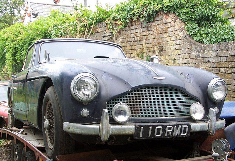 1958 Aston Martin DB2/4 MkIII Drophead fetches over £200,000 at Baron's auction