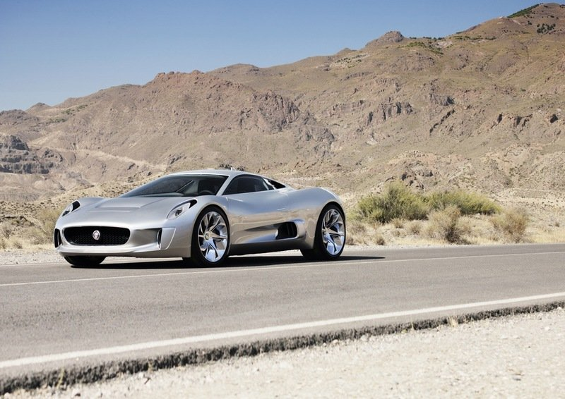 2010 Jaguar C-X75 High Resolution Exterior - image 376074
