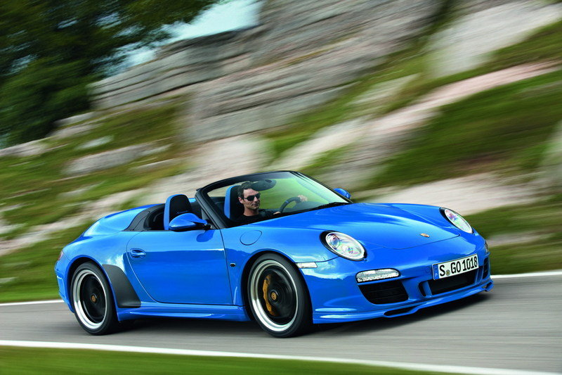 Porsche 911 Speedster Quirks and Features