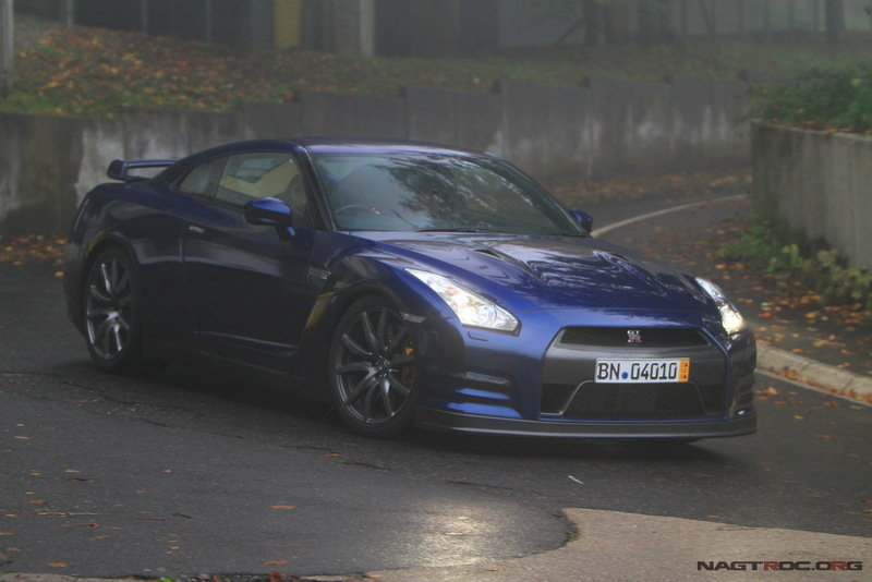 2012 Nissan GT-R caught on film