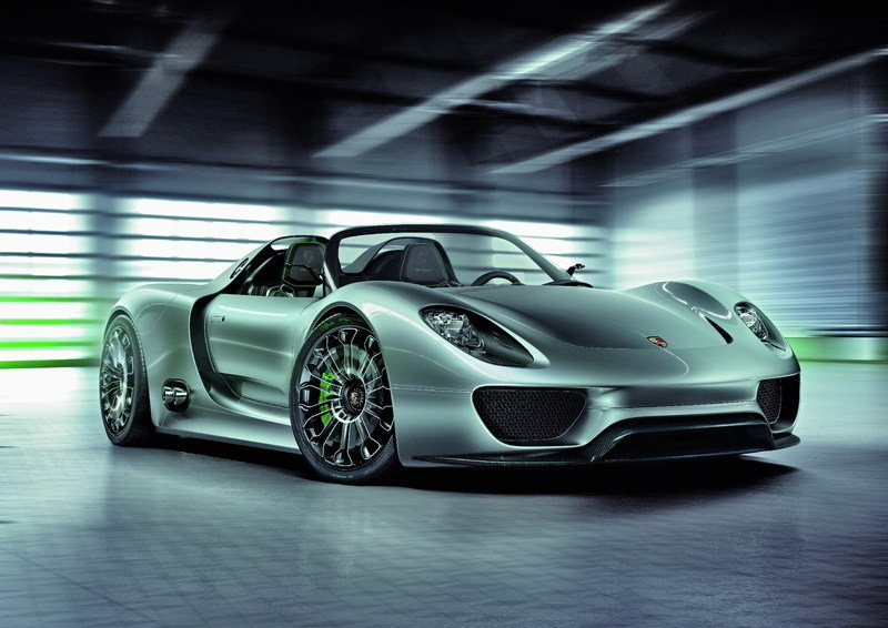 Porsche Museum displays the 918 Spyder Concept Study