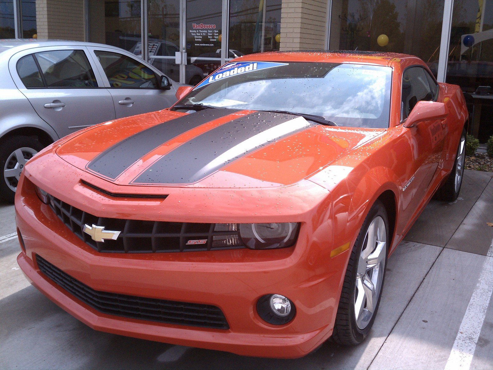 American Muscle: The 2010 Chevrolet Camaro SS - Picture ...