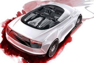 2010 Audi E-Tron Spyder Preview
