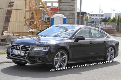 Audi S7 Sportback caught undisguised days leading up to Paris debut