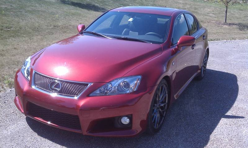 BMW M3, Meet The Lexus IS-F