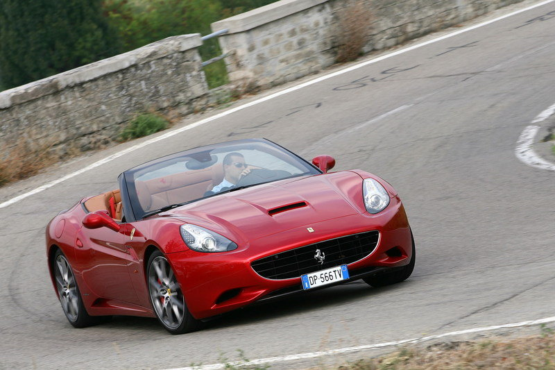2011 Ferrari California with HELE system