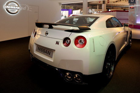 First official image of the 2012 Nissan GT-R facelift
