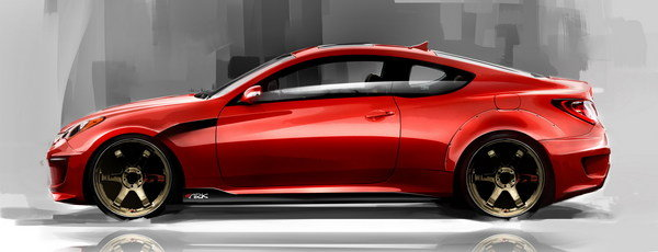 2010 hyundai genesis coupe by ark car review top speed. Black Bedroom Furniture Sets. Home Design Ideas