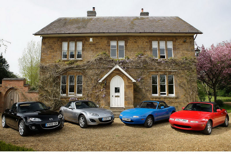 Mazda MX-5 hits 100,000 units sold in the UK