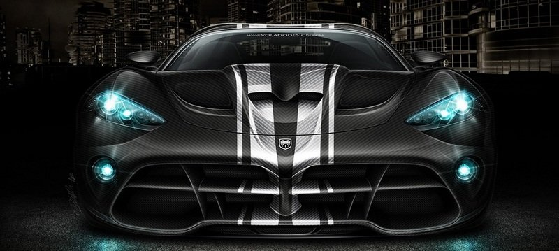 Next Generation Dodge Viper SRT-10 rendered