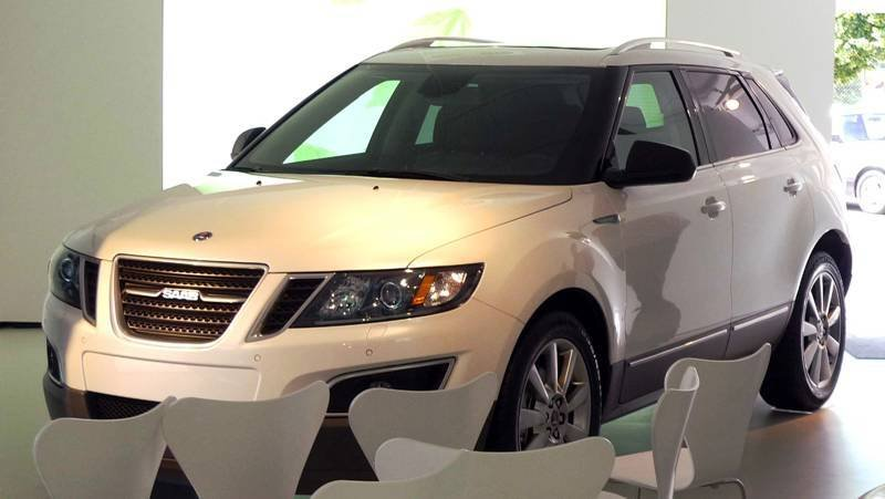 Saab 9-4X leaked before LA debut