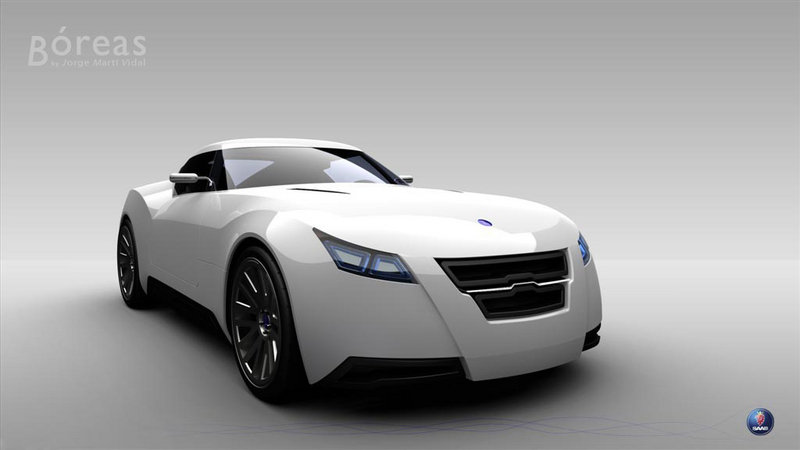 Saab Boreas Sports Coupe Concept