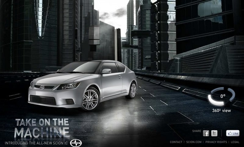 "Scion wants you to ""Take on the Machine"""
