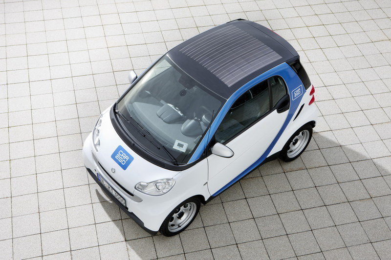 2011 Smart Car2Go edition with solar roof