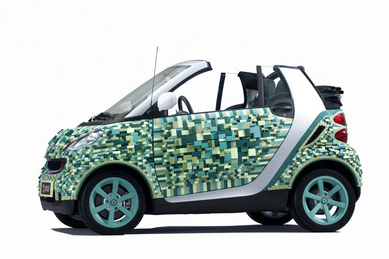 Smart to display cardboard-built ForTwo at the Paris Motor Show