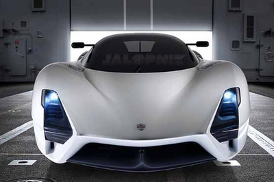 SSC gives sneak peak of Ultimate Aero II at Pebble Beach; leaked photos released