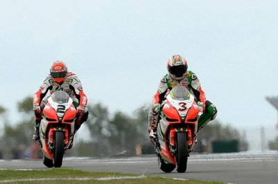 The Aprilia Racing Team is Back on the Track