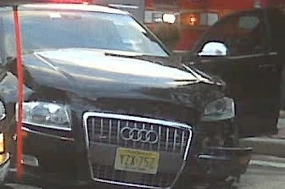 Tom Brady's wrecked car was a loaned Audi S8