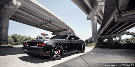 Dodge Challenger SRT8 by CULT Energy Drink