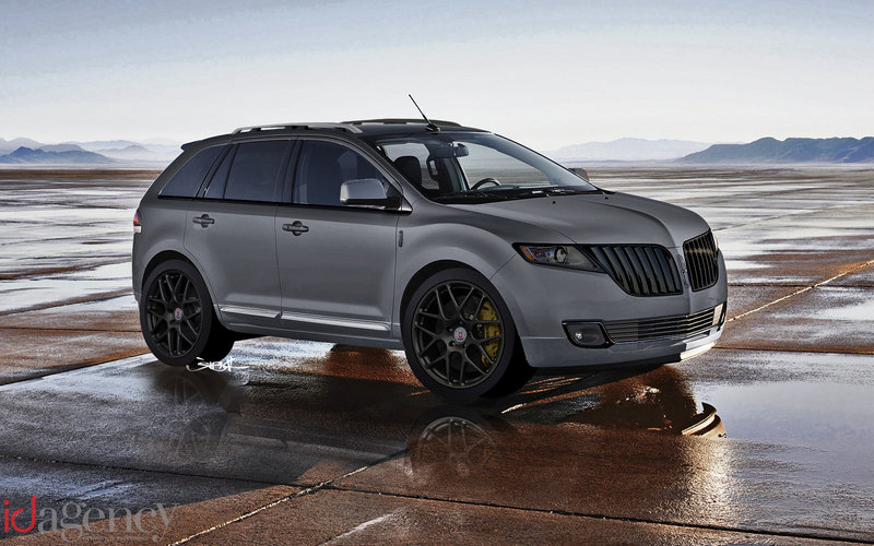 2011 Lincoln MKX by ID Agency coming to SEMA