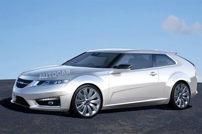 2012 Saab 9-3 rendered
