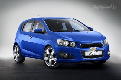 A New Name For The Chevrolet Aveo