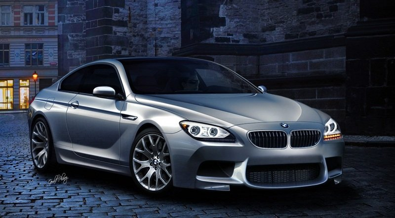 Another rendering of the 2012 BMW M6 Coupe pops up
