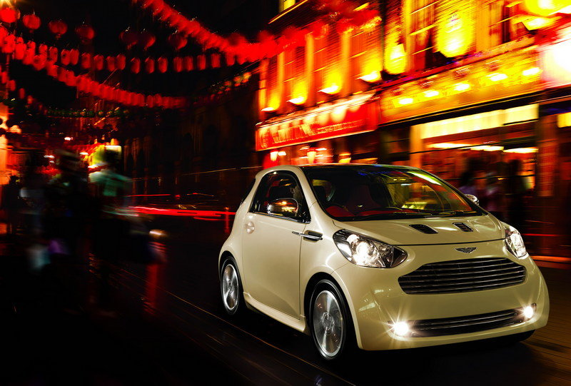 Aston Martin Cygnet production begins in 2011