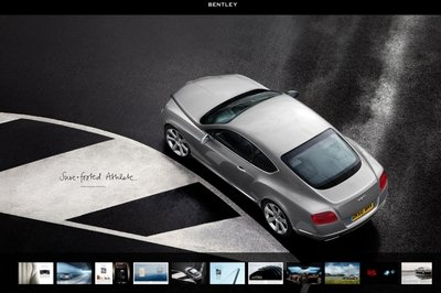 Bentley launches new free iPad app of the 2011 Bentley Continental GT