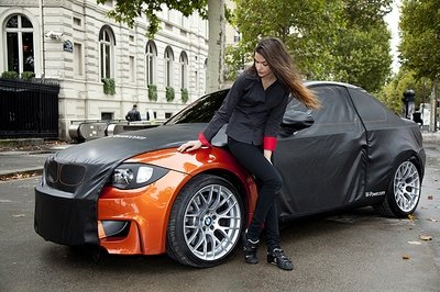 BMW 1M Coupe revealed in Paris, but not at the show