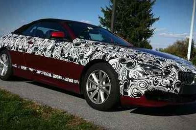 2012 BMW 6 Series Convertible spotted
