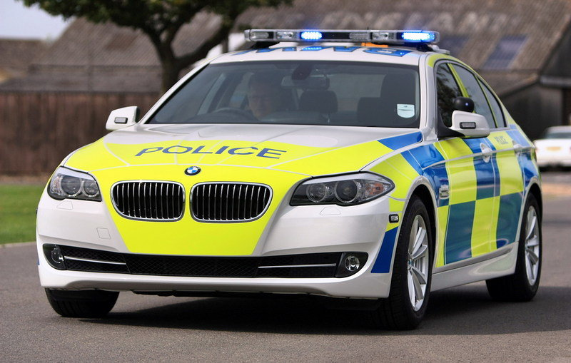 BMW Giving UK Police Forces New Cars