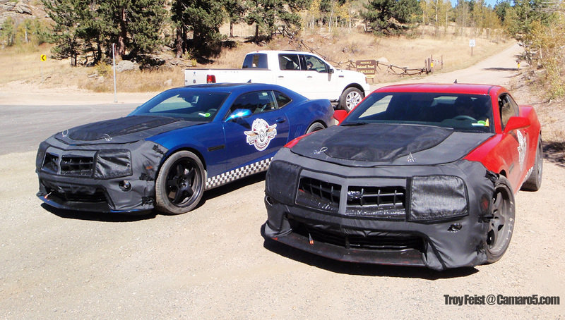 Camaro Z28 prototypes caught testing in Colorado