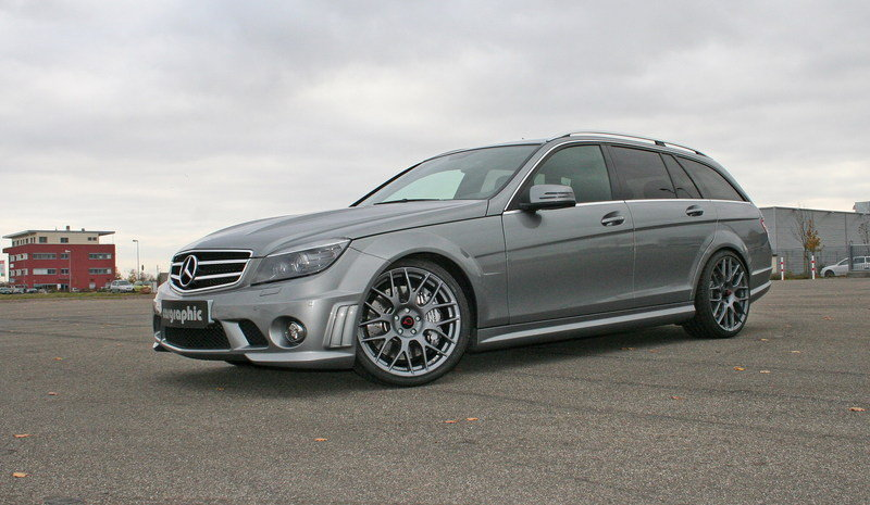 Cargraphic Introduces Performance Pack for the C63 AMG Station Wagon